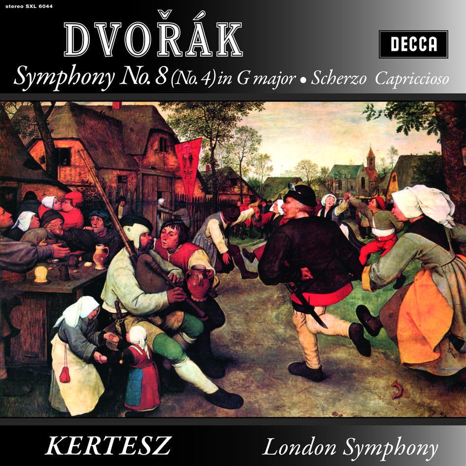 Post image for Vinyl Review: Dvorák – Symphony No. 8, Kertész, LSO (Speakers Corner 180g)