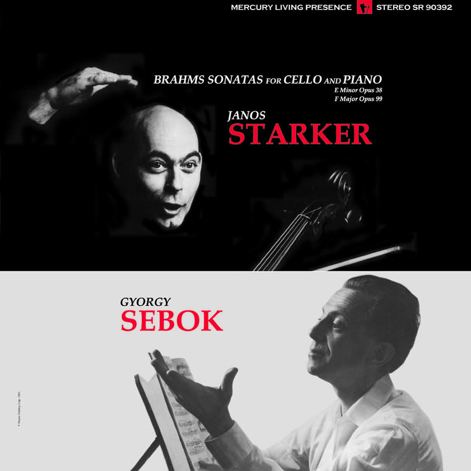 Post image for Vinyl Review: Brahms – Sonatas for Cello and Piano Nos. 1 & 2, Janos Starker, György Sebök (Speakers Corner 180g)