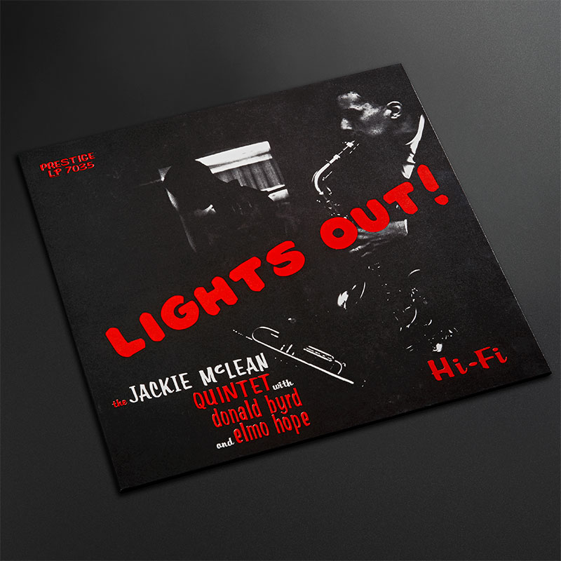 Post image for Vinyl Review: Jackie McLean – Lights Out! (Electric Recording Co. 180g)