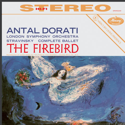 Post image for Vinyl Review: Stravinsky – The Firebird, Dorati, LSO (Speakers Corner 180g)